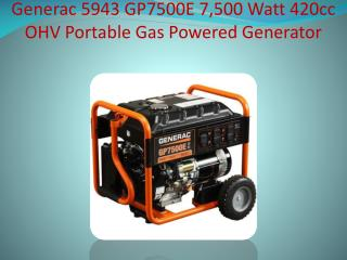 Generac Portable Generator Review