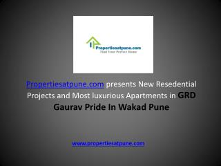 GRD Gaurav Pride in Wakad Pune By GRD Infraprojects""