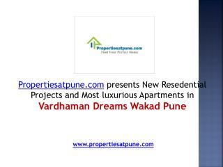 Vardhaman Dreams Wakad Pune, 2 & 3BHK Flats in Wakad