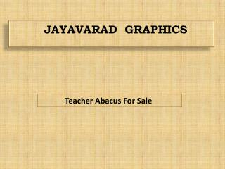 Teacher abacus for sale