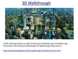 3D Walkthrough Company