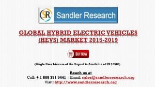Global Hybrid Electric Vehicles (HEVs) Market 2015-2019