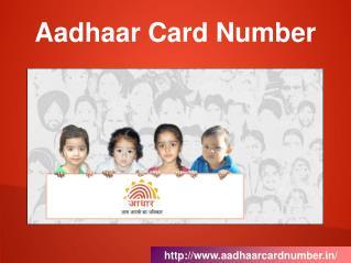 Aadhar CardNumber