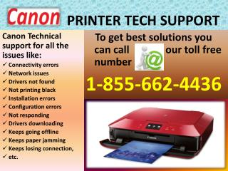 Support for #Canon Printer Technical #1-855-662-4436 Support
