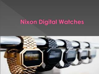Nixon Digital Watches