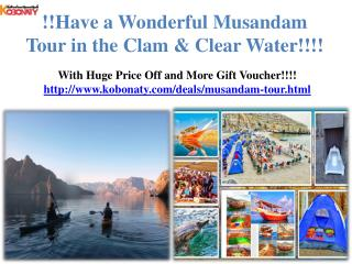 Great Musandam Tour