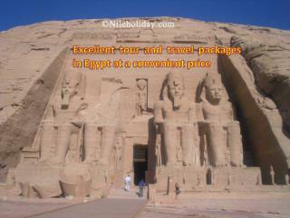 Excellent Tour and Travel packages in Egypt at a convenient