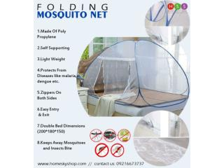 Buy Foldable Medicated Mosquito Net This Summer