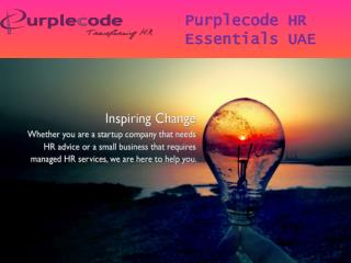 Human Resources Management - Purplecode.ae