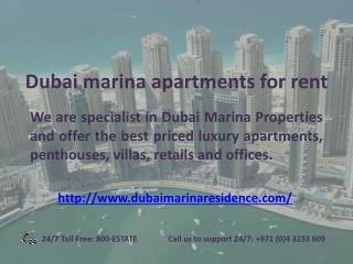 Dubai Marina Properties - dubaimarinaresidence.com