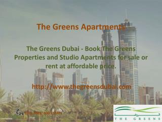 The Greens Apartments for Sale - thegreensdubai.com