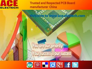 Trusted and respected PCB Board Manufacturer China