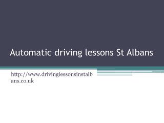 Driving lessons St Albans | Driving school St Albans