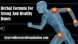 Herbal Bone Support Formula For Strong And Healthy Bones