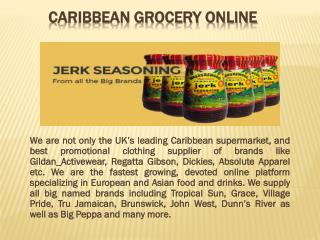 Caribbean Grocery Online