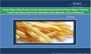 Frozen Finger Chips Manufacturing Plant | Market Trends, Cos