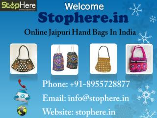 Cheap Jaipuri Handbags Online