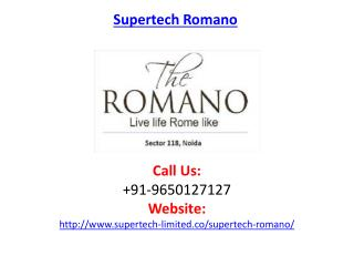 Supertech Romano Residential Project