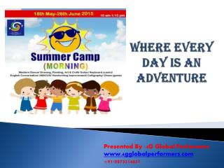 Best summer camp for kids in south delhi