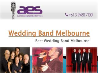 best Wedding bands Melbourne
