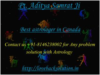 Best Astrologer in canada