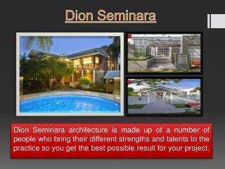 Dion Seminara Architect