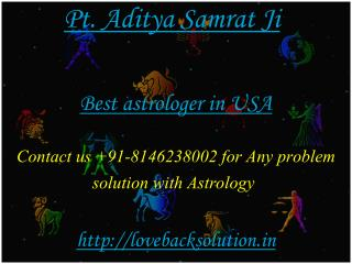 Best Astrologer in USA