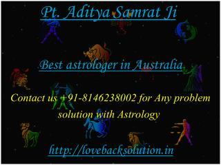 Best Astrologer in Australia