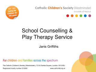 School Counselling   Play Therapy Service
