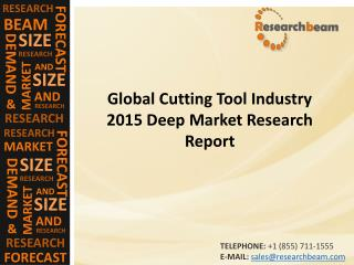 Global Cutting Tool Industry 2015 Deep
