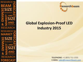 Global Explosion-Proof LED Industry 2015