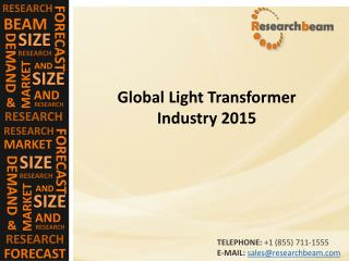 Global Light Transformer Industry 2015