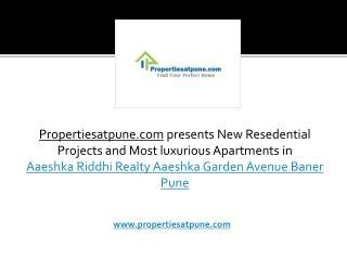 Aaeshka Riddhi Realty Aaeshka Garden Avenue Baner Pune