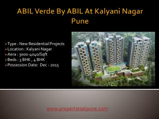ABIL Verde By ABIL At Kalyani Nagar Pune
