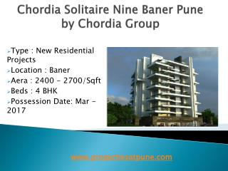 Chordia Solitaire Nine Baner Pune By Chordia Group