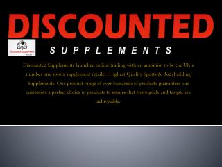 Highest Quality Bodybuilding Supplements