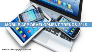 Mobile App Development Trends 2015