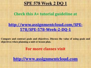SPE 578 Week 2 DQ 1