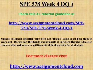 SPE 578 Week 4 DQ 3