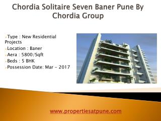 Chordia Solitaire Seven Baner Pune By Chordia Group
