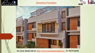 Zonasha Paradiso Marathahalli Bangalore | Price List