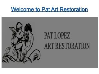 Antique Restoration and Conservation Services