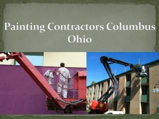 Painting Contractors Columbus Ohio
