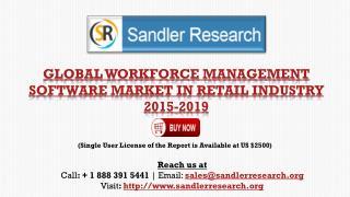 Global Workforce Management Software Market 2015-2019