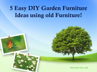 5 Easy DIY Darden Furniture Ideas using old Furniture!