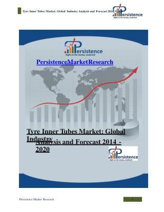 Tyre Inner Tubes Market - Global Industry Analysis