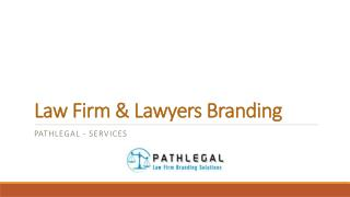Lawyers Branding Services