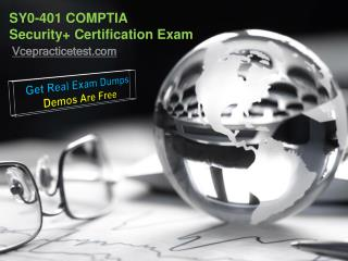 COMPTIA Security  Certification Exam SY0-401 Questions