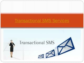 Best Transactional SMS Services