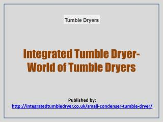 Integrated Tumble Dryer-World of Tumble Dryers